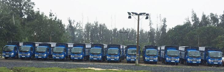 Xe tải tập lái Trường dạy lái xe Thành Công
