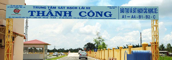 Học lái xe ô tô B2 TPHCM - Trường Thành Công