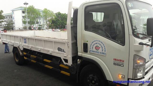xe tải tập lái hạng C