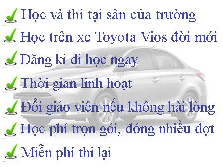 Học bằng lái xe B2 tại tphcm
